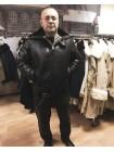 Куртки вмф Канадка СССР кожаные меховые натуральная овчина зимние черные мужские, размер 46-76