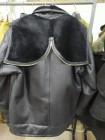 Куртка подводника ВМФ (смесь Пилот и Канадка) кожаная меховая, черная, размер 46-76